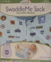 Summer Infant Swaddleme Sacks, Lil Champ, Medium (Discontinued by Manufacturer)