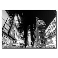 Time Square by Ariane Moshayedi, 16x24-Inch Canvas Wall Art