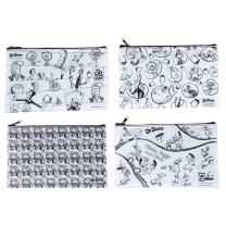 Raymond Geddes Dr Seuss Color It Pencil Pouch 12/Bag Pen Case (70598)