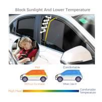 LFOTPP Car Window Sun Shade for 2018-2019 CR-V, Sunscreen Mesh Curtain Magnet Type, Premium Breathable Mesh Sun Shield, Protect Baby/Pet from Sun's Glare & Harmful UV Rays