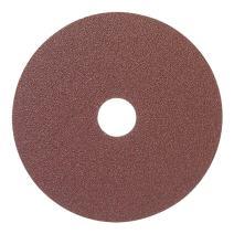 "Mercer Industries 302060 60 Grit Aluminum Oxide Resin Fiber Discs (25 Pack), 5 x 7/8"""