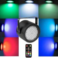 Strobe Light for Parties, softeen Sound Activated DJ Strobe Light with Wireless Remote Control and 88pcs 5050 Super Bright LED, Adjustable Flashing Speed and Colors, Perfect for Party, Birthday, Disco
