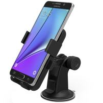 Car Mount, iOttie Easy One Touch XL Windshield Dashboard Car Mount Holder for Amazon Fire Phone and iPhone 6 Plus (5.5), Galaxy S6/S6 Edge/S5/S4/Note4/Note3, LG G4