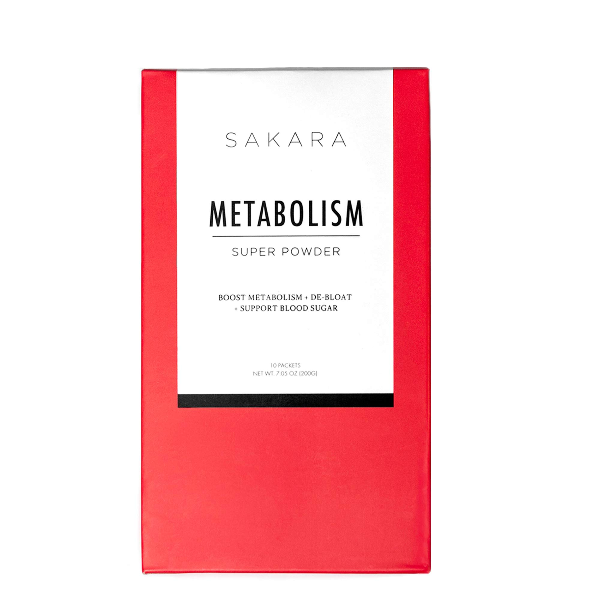 Metabolism Super Powder for Weight Loss, 10 Pack