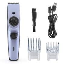 Hair Clipper, Professional Beard Shaver Cordless Hair Clipper Set with USB Rechargeable Hair Trimmer Precisely Adjustable Hair Razor for Men Dog Pet