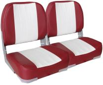 Leader Accessories A Pair of New Low Back Folding Boat Seats(2 Seats)