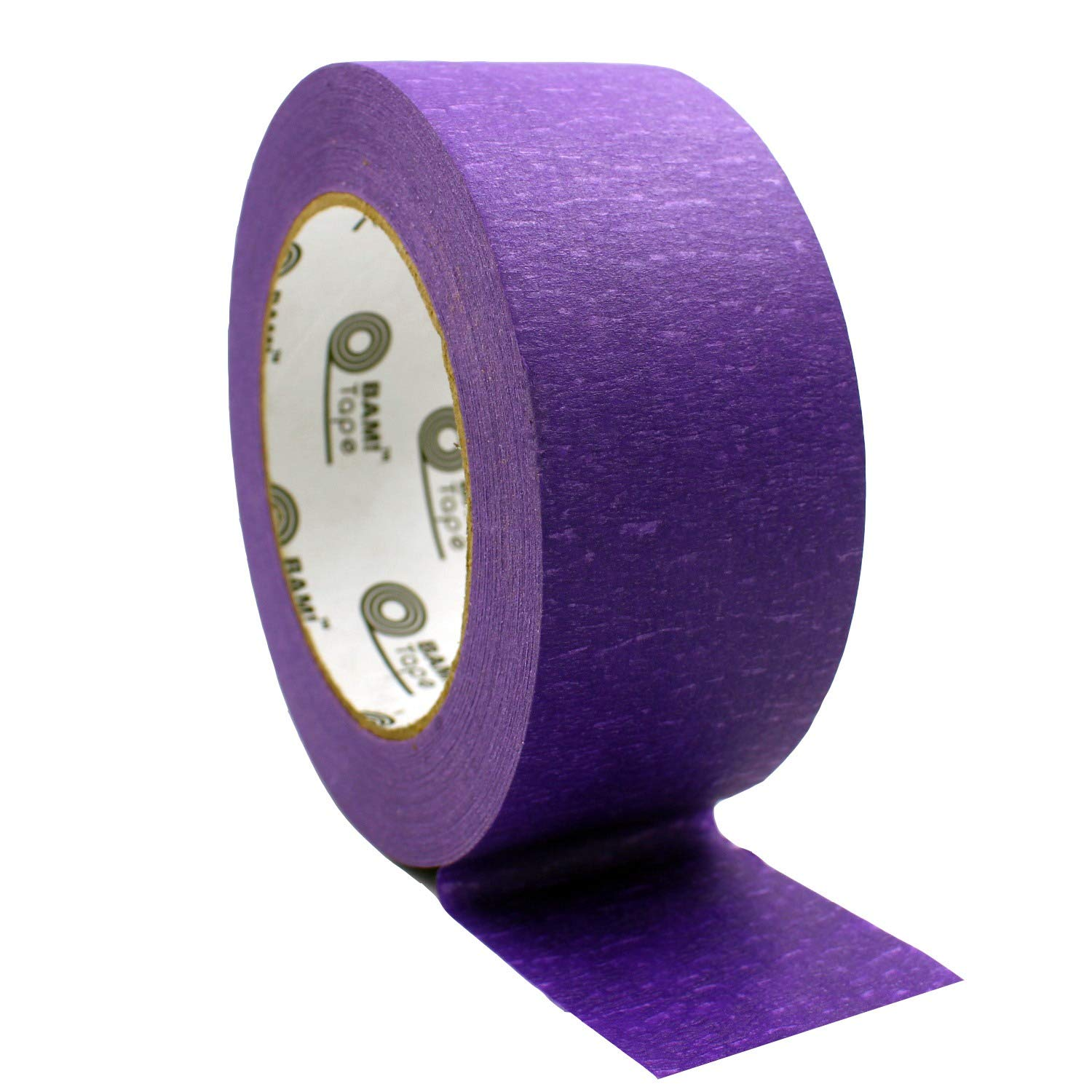 Purple Colored Masking Tape by BAM! Tape   Arts and Crafts Tape   STEM Preschool Learning   Kids Art Supplies and Crafting Kit   Painter Tape   1 Large Roll 60 Yards by 2 Inch Wide