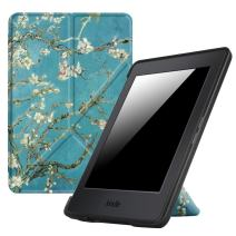 Fintie Origami Case for Kindle Paperwhite - Fits All Paperwhite Generations Prior to 2018 (Not Fit All-New Paperwhite 10th Gen), Blossom