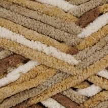 Bernat Blanket Yarn – Super Bulky, Polyester Crafting Yarn – 220 Yard Skein – for Knitting, Crochet, Macramé, and Crafting Purposes (Sonoma)