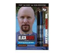 Blackbeard for Men - Instant Brush-On Beard & Mustache Color - 6-pack (Brown/Auburn)