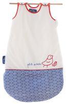 La Petite Chose Baby Sleeping Sack, Adjustable Length & Naturally Cozy Cotton for Soft, Safe Sleep (Little Bird 0-12 months)