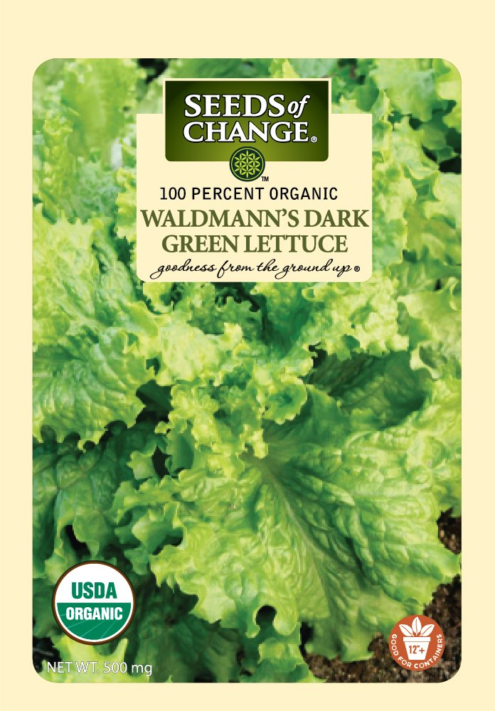 Seeds of Change Certified Organic Waldmann's Dark Green Leaf Lettuce