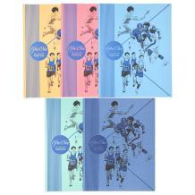 Mead 2-Pocket Folders, Color Talk Pee Chee Portfolio, Assorted Colors, 5-Pack (73331)