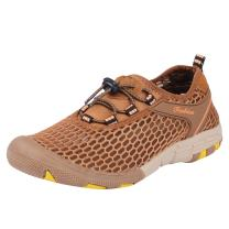 NEOYOWO Mens Water Shoes Quick-Dry Mesh Aqua Beach Shoes