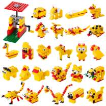 MEKNIC 244 Piece STEM Toys Kit, Educational Construction Engineering Building Blocks Learning Set for Ages 5 6 7 8 9 10 Year Old Boys & Girls, Best Kids Toy, Creative Games & Fun Activity