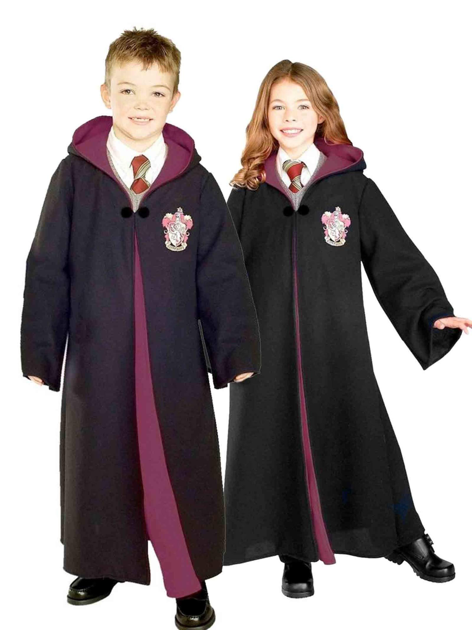 Rubie's Harry Potter Child's Deluxe Gryffindor Costume Robe, Large