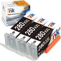 Starink Compatible Ink Cartridge Replacement for Canon PGI-280 PGI-280XXL PGBK Work for PIXMA TR7520 TR8520 TS6120 TS6220 TS6320 TS8120 TS8220 TS8320 TS9120 TS9520 TS9521C Printer (3 Pack)