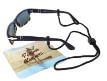 Eyeglass Retainer & Sunglass Holder By Peeper Keepers Supercord Adjustable| w/Microfiber Cloth, Screwdriver
