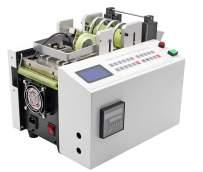 Hanchen Auto Heat-shrink Tube Cutting Machine Precise Cable Cutter for Sleeve, Rubber,Plastic,PE,Mylar,Glass Fiber,Copper foil Pipe, Wire, Sheet, Film 500W 0.1MM 100Slices/Min 100M Max Width 60m/min