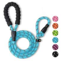 WePet Dog Training Slip Leash, Dog Slip Lead, Puppy Obedience Recall Training Lead, 6 ft Long, Heavy Duty Rope with Reflective Design, Comfortable Handle, for Medium Large Dogs