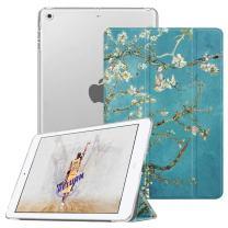 Fintie Case for iPad Mini 3/2 / 1 - Lightweight Smart Slim Shell Translucent Frosted Back Cover Protector Supports Auto Wake/Sleep for Apple iPad Mini 1 / Mini 2 / Mini 3, Blossom