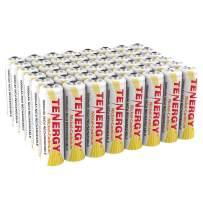 Tenergy Rechargeable NiCd Battery 1000mAh 1.2V AA Battery Pack for Solar Lights, Garden Lights, 48-Pack