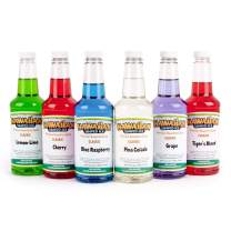 Hawaiian Shaved Ice Syrup 6 Pack, Pints