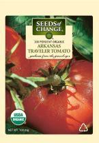 Seeds of Change S10986 Certified Organic Arkansas Traveler Heirloom Tomato