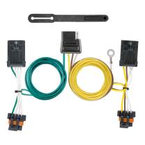 CURT 56340 Vehicle-Side Custom 4-Pin Trailer Wiring Harness for Select Buick LaCrosse