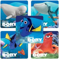 SmileMakers Finding Dory Character Stickers - Prizes 100 Per Pack