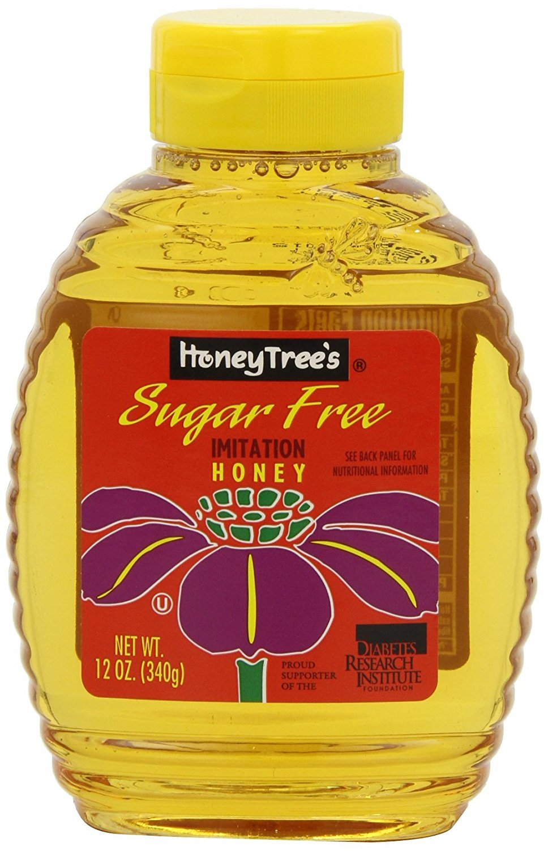 HoneyTree's Imitation Honey, Sugar Free, 12-Ounce Bottles (Pack of 6)