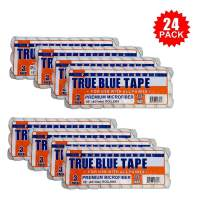 """True Blue 18"""" Professional Paint Roller Covers, Best for All Types of Paint (24, 1/2"""" Nap)"""