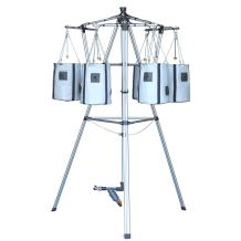 Drip Garden, Self Watering & Self Feeding Container Garden Tower with programmable Timer and Ability to Grow 36 to 54 Full Size Tomatoes, Vegetables, Herbs & Flowers - 4' x 4' Area