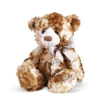 Nat and Jules Smiling Cohen Bear With Bow Children's Plush Stuffed Animal Toy