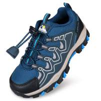 UOVO Boys Shoes Boys Sneakers Boys Tennis Running Shoes Waterproof Hiking Shoes Kids Athletic Outdoor Sneakers Slip Resistant(Little/Big Boys)