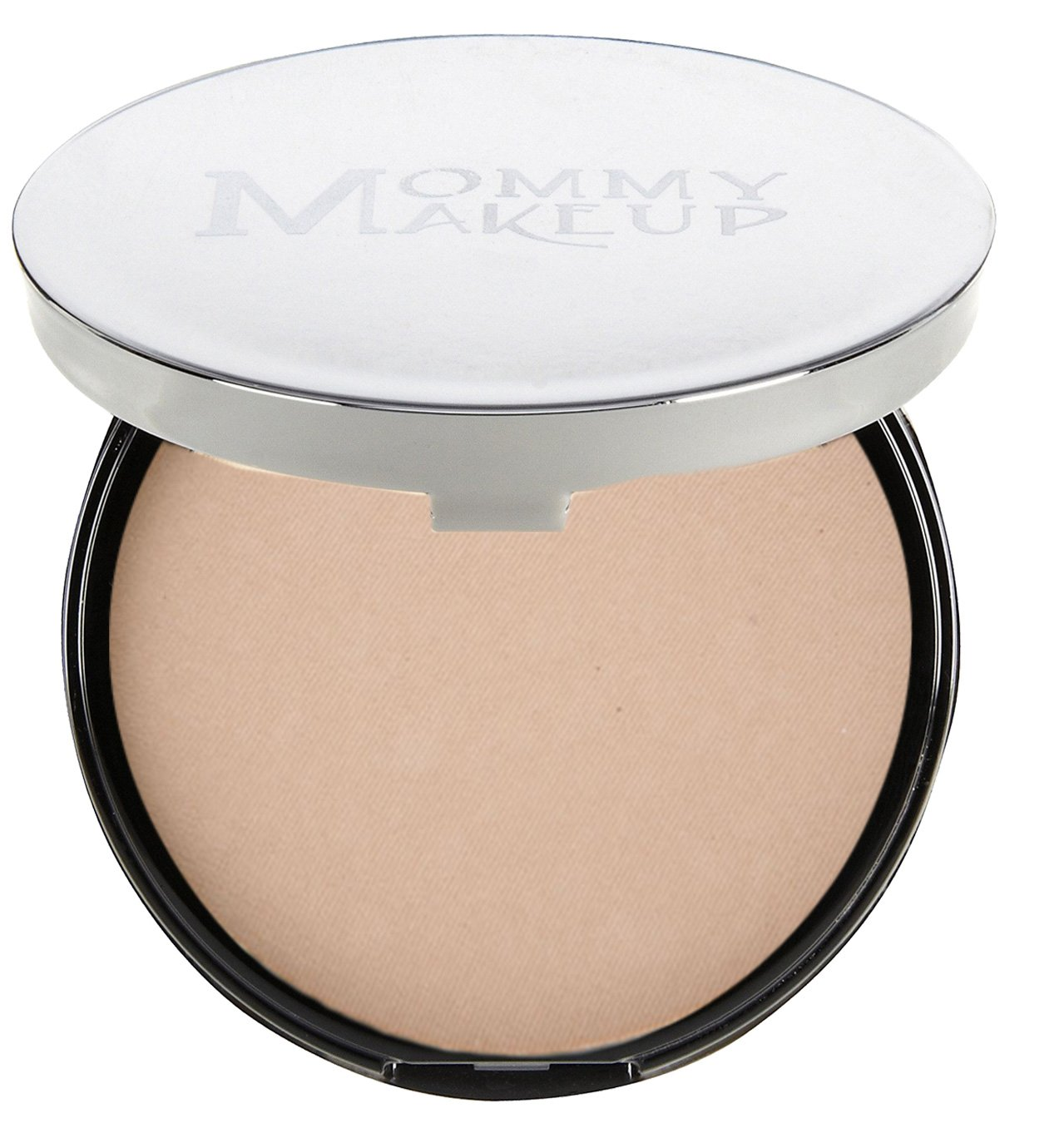 Mommy Makeup Mineral Dual Powder SPF15 [4-in-1 Pressed Mineral Foundation] 0.45 ounce - Oil-free, Talc-free, Fragrance-free, Paraben-free - Due Date