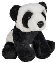 Wildlife Tree 5 Inch Stuffed Panda Bear Cub Zoo Animal Plush Floppy Animal Kingdom Babies Collection
