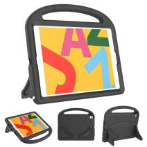 """Kids Case for New iPad 10.2 2019 - BLUEWIND iPad 7th Generation Case, Shockproof Light Weight Handle Stand Kids Case for Apple iPad 10.2"""" 2019 Latest Model (Black)"""