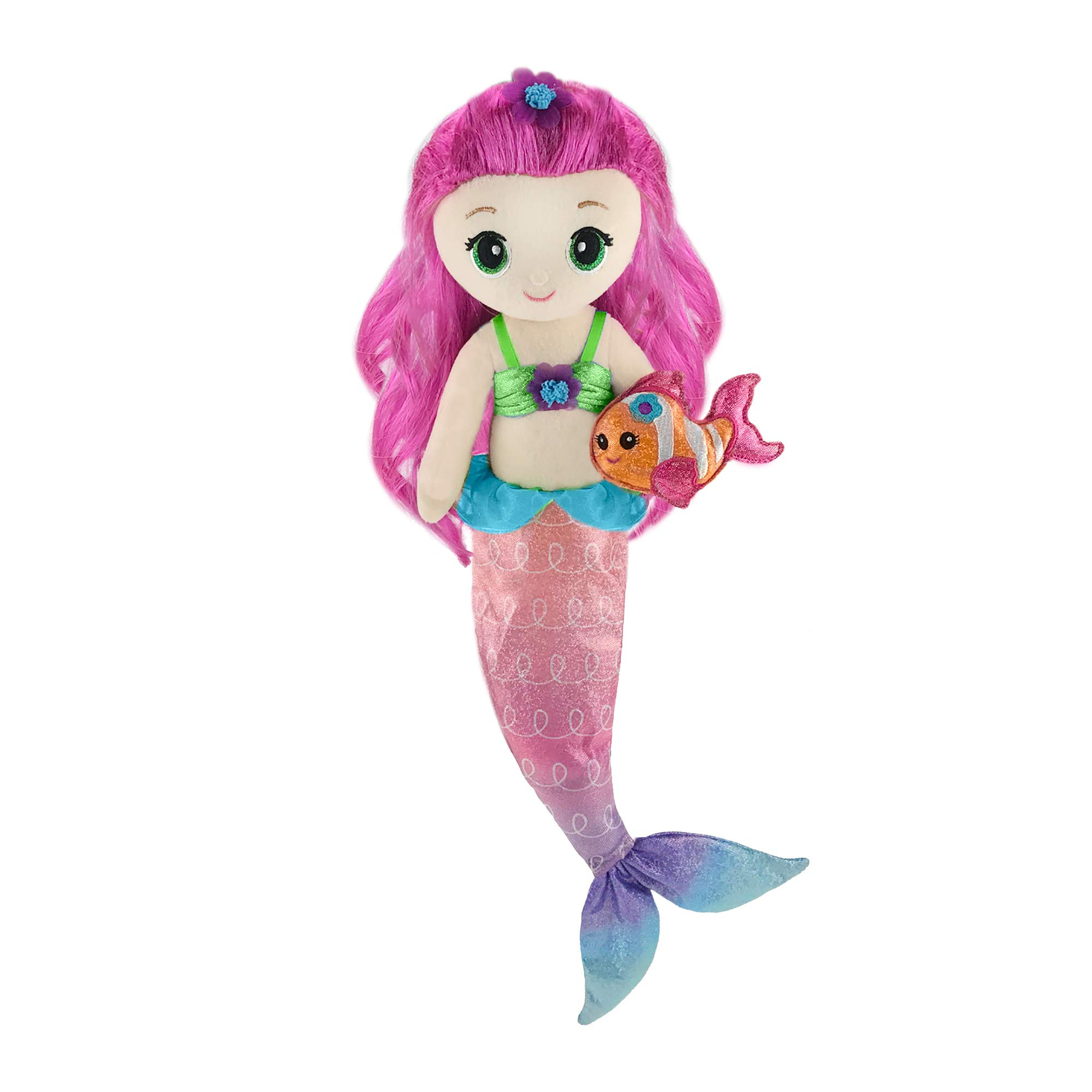 "First & Main 18"" Fantasea Friends Pearl Mermaid"