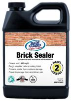 Rain Guard Water Sealers SP-3002 Brick Sealer Ready to USE Covers up to 400 Sq. Ft. 1 Quart Makes 2 gallons – Water Repellent Sealer