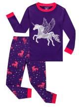 Family Feeling Striped Boys Girls 2 Piece Christmas Pajamas Set 100% Cotton Pjs