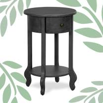 Finch James Side Table, gray