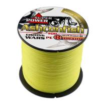 Braided Fishing Line-8 Strands Super Strong PE Braid Fishing Lines 100M-2000M/109Yards-2187Yds - Abrasion Resistant Braided Lines-6LB-300LB