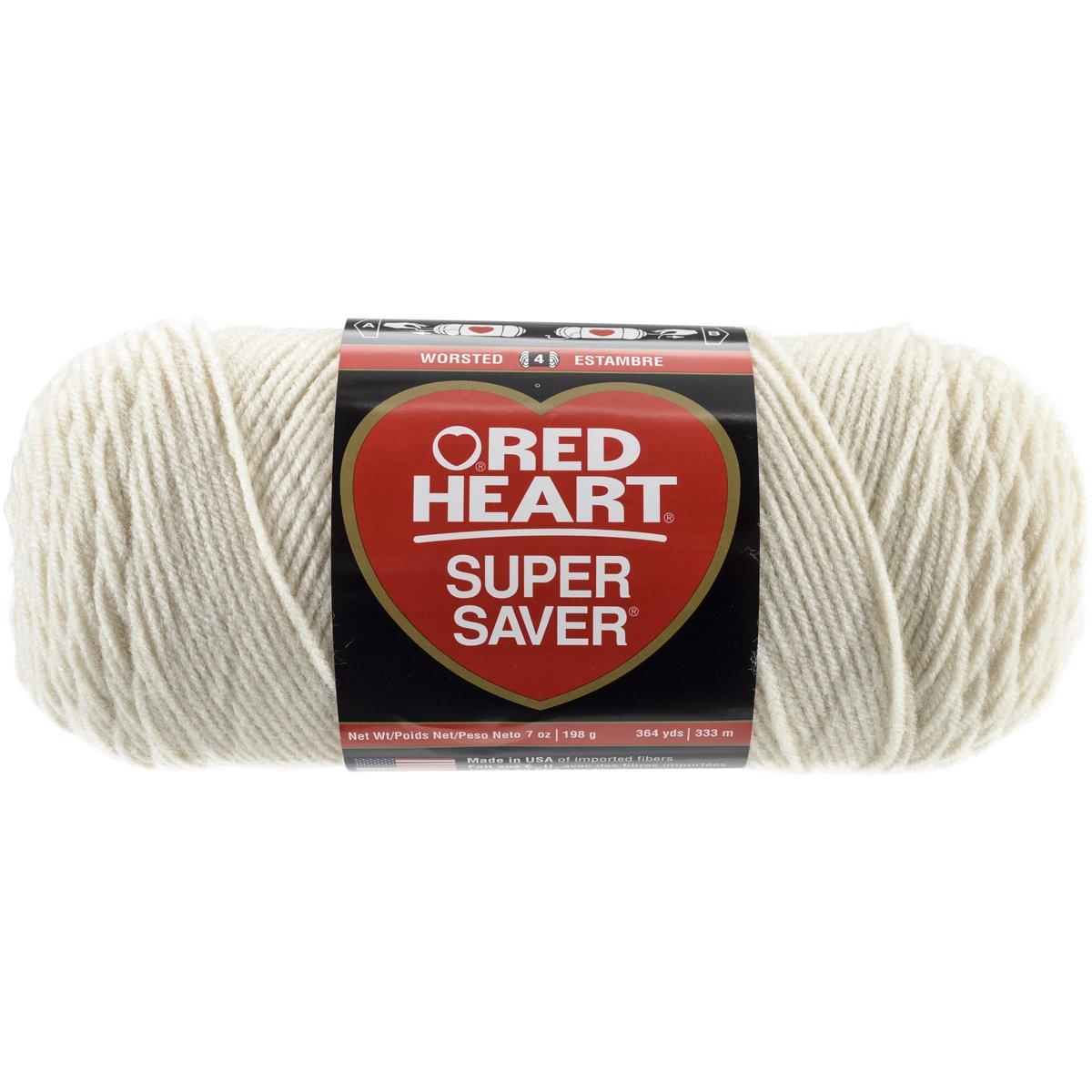 Red Heart  Super Saver Economy Yarn, Aran