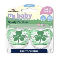 Michaelson Entertainment Pacifier, Irish Baby, 2 Count