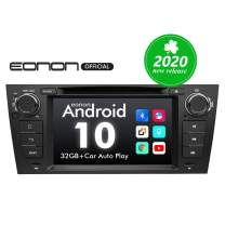 2020 Car Stereo Android Radio Eonon 7 Inch Android 10 Car Radio Applicable to BMW 3 Series GPS Navigation for Car Support Carplay Android Auto/Bluetooth 5.0/WiFi/Fast Boot/DVR/Backup Camera-GA9465