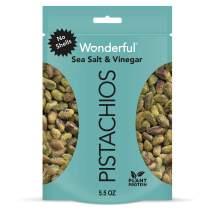 Wonderful Pistachios No Shells, Sea Salt & Vinegar, 5.5 Oz Bag