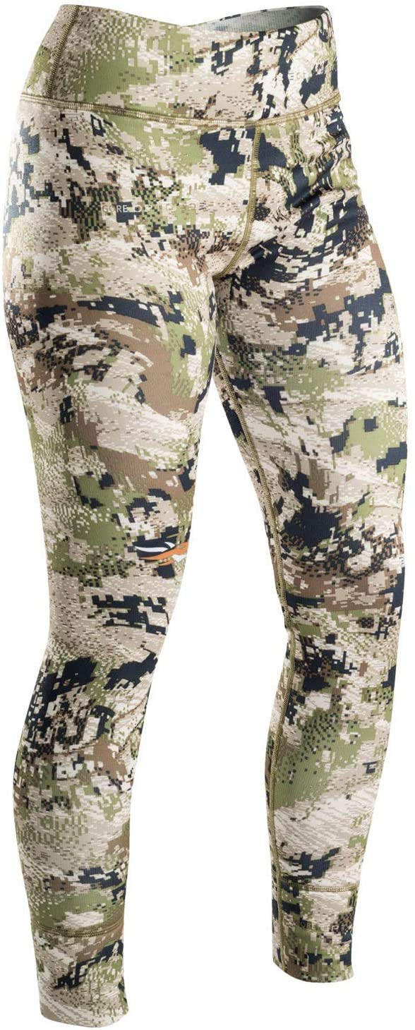 SITKA Gear Women's Hunting Concealment Odor Control Core Midweight Optifade Subalpine Bottoms