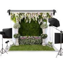 Kate 10x6.5ft/3m(W) x2m(H) Wedding Backdrop Photogaphy Photo Backdrops Flowers Green Grass Backgrounds Phorography Studio Wedding Photo