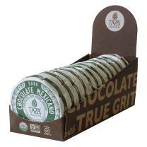 Taza Chocolate Organic Mexicano Disc 50% Dark Chocolate, Guajillo Chili, 2.7 Ounce (12 Count), Vegan